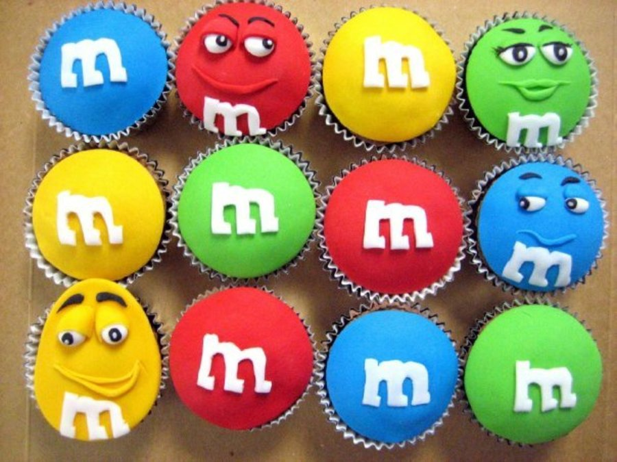 M&m's Cupcakes on Cake Central
