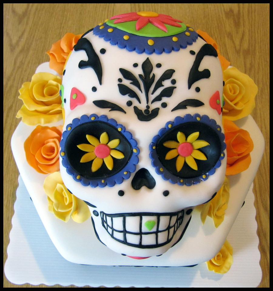 Day Of Dead on Cake Central