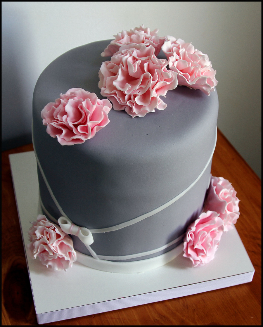 Images Of B Day Cake For Mom : My Boyfriend s Mom s B-Day Cake :) - CakeCentral.com