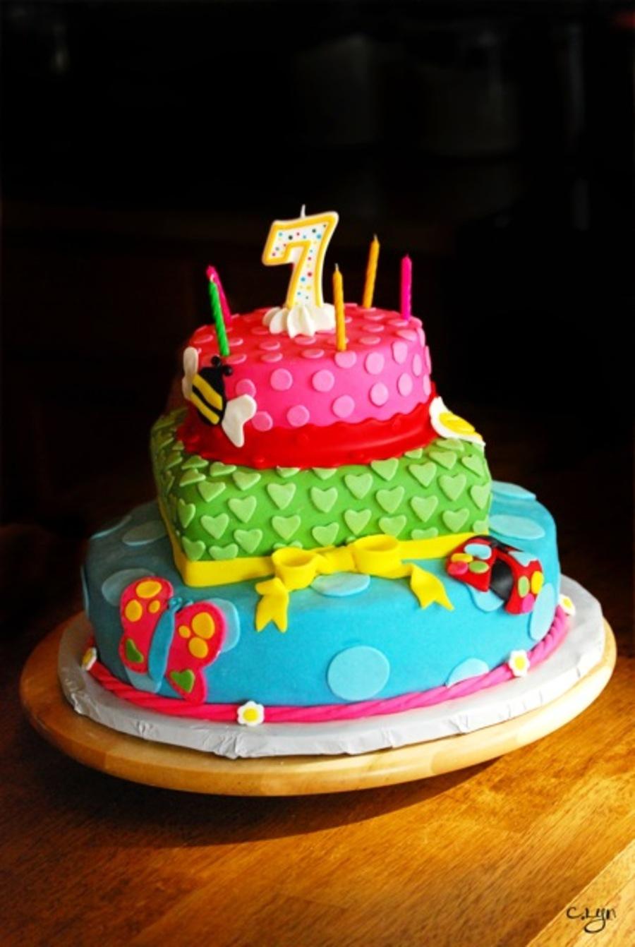 Seventh Birthday Cake Cakecentral Com