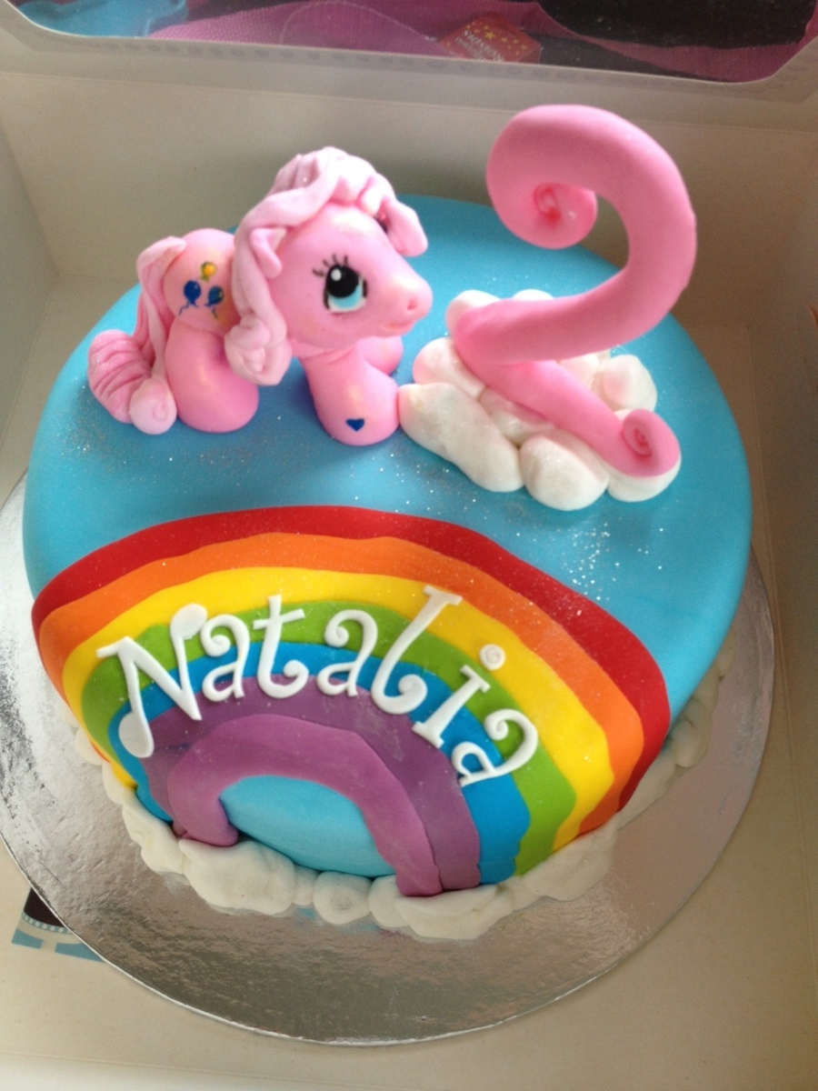 My Little Pony Pinkie Pie Cake CakeCentralcom