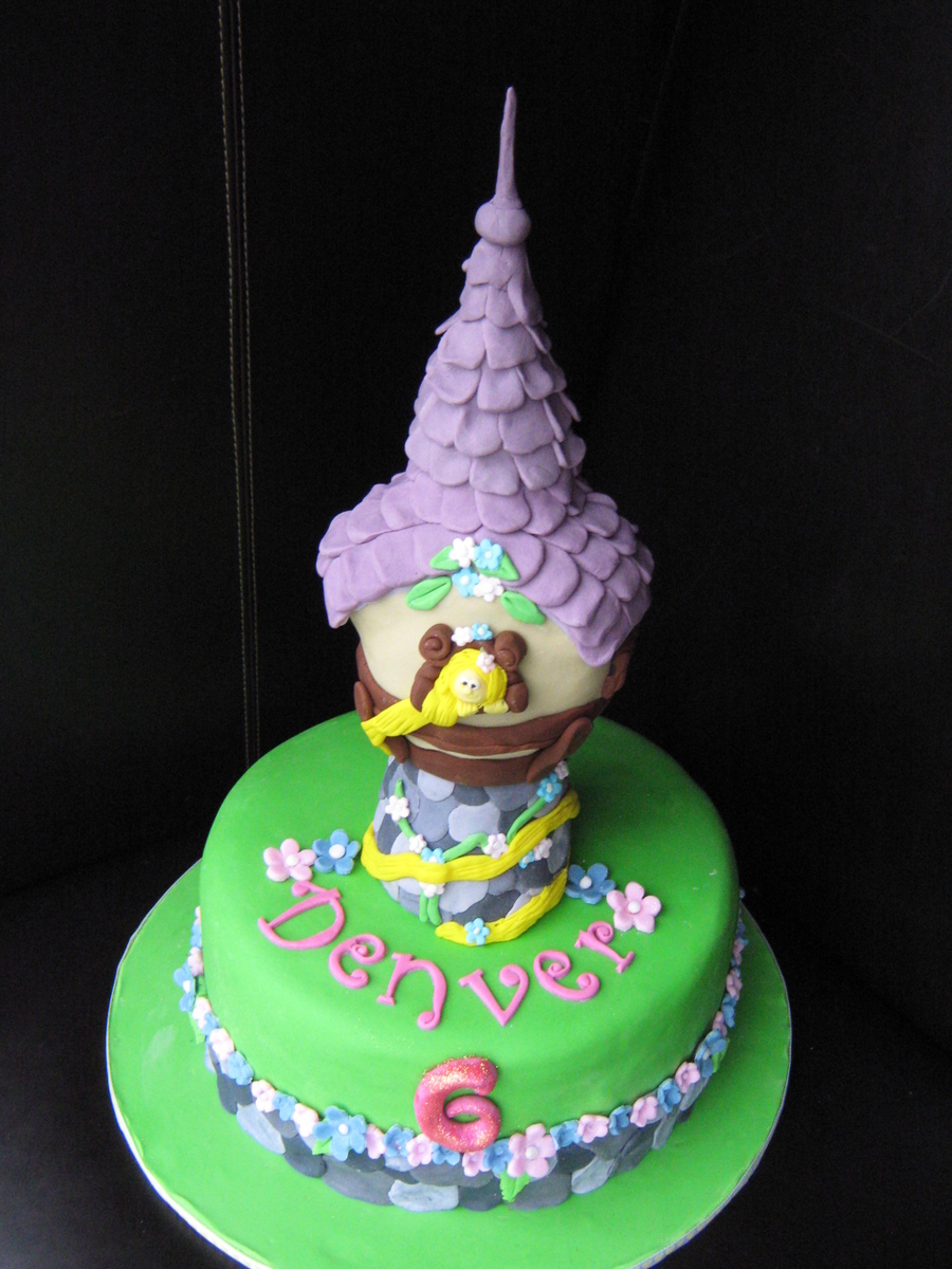Another Rapunzel Cake on Cake Central