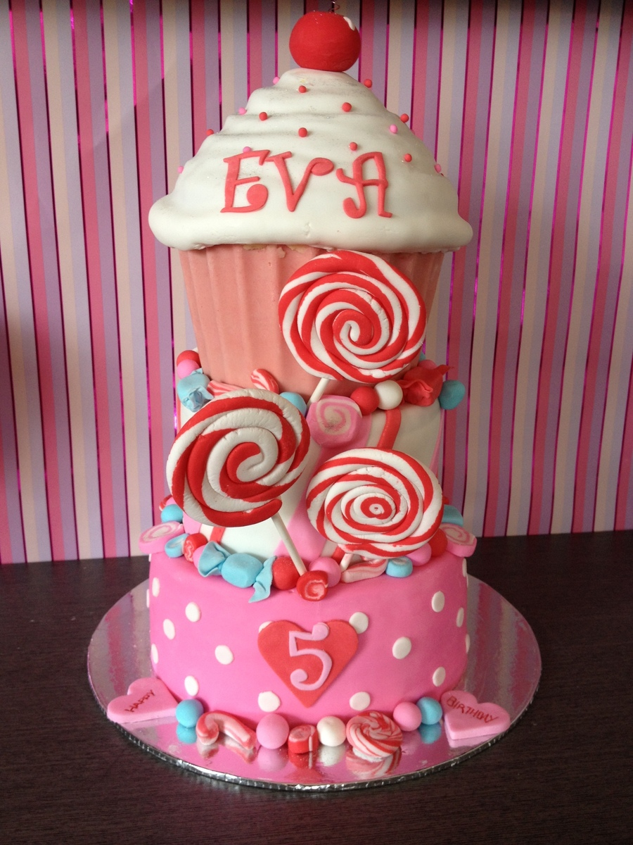 Candy Theme Cake on Cake Central