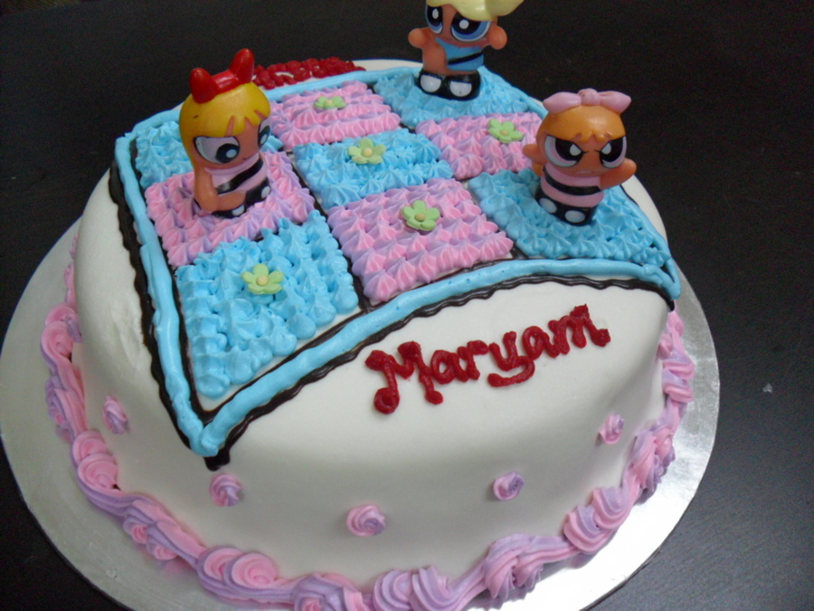 Power Puff Girls on Cake Central