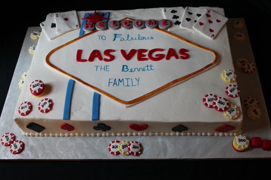 Viva Las Vegas on Cake Central
