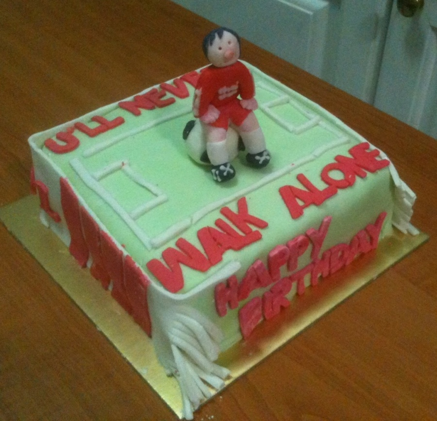 Liverpool Fc Fan Cake on Cake Central