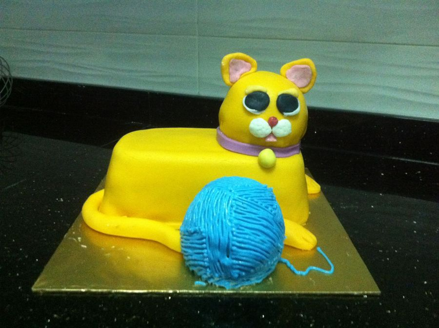 Cat Cake on Cake Central
