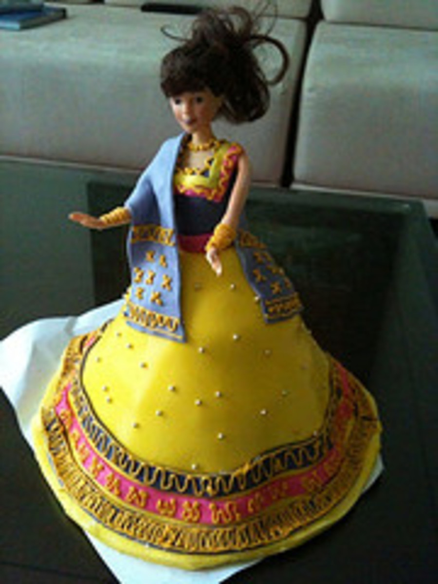 Princess Fondant Cake on Cake Central