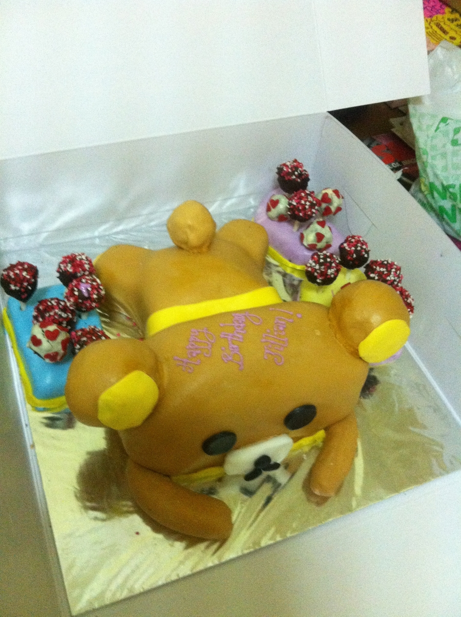 Rilakkuma Bear Cake on Cake Central