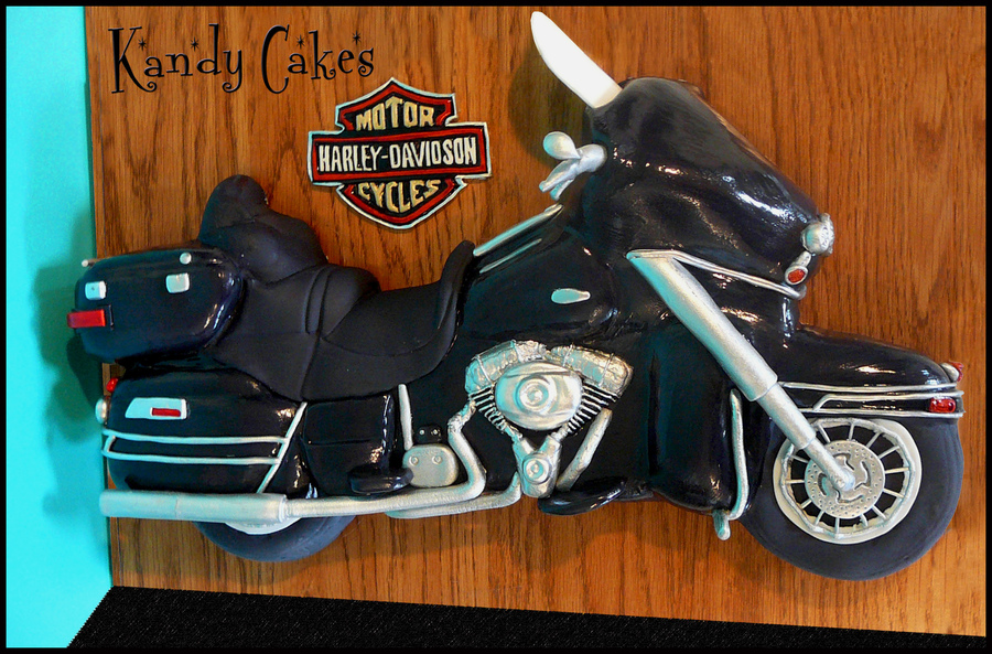 Harley Motorcycle Cake on Cake Central