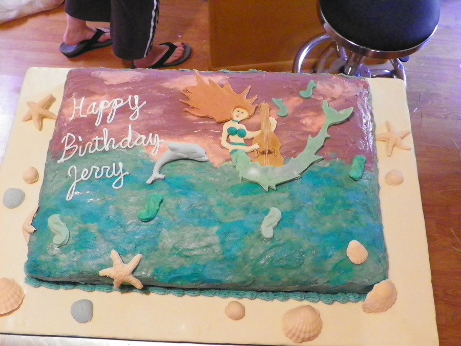 Mermaid Birthday Cake on Cake Central