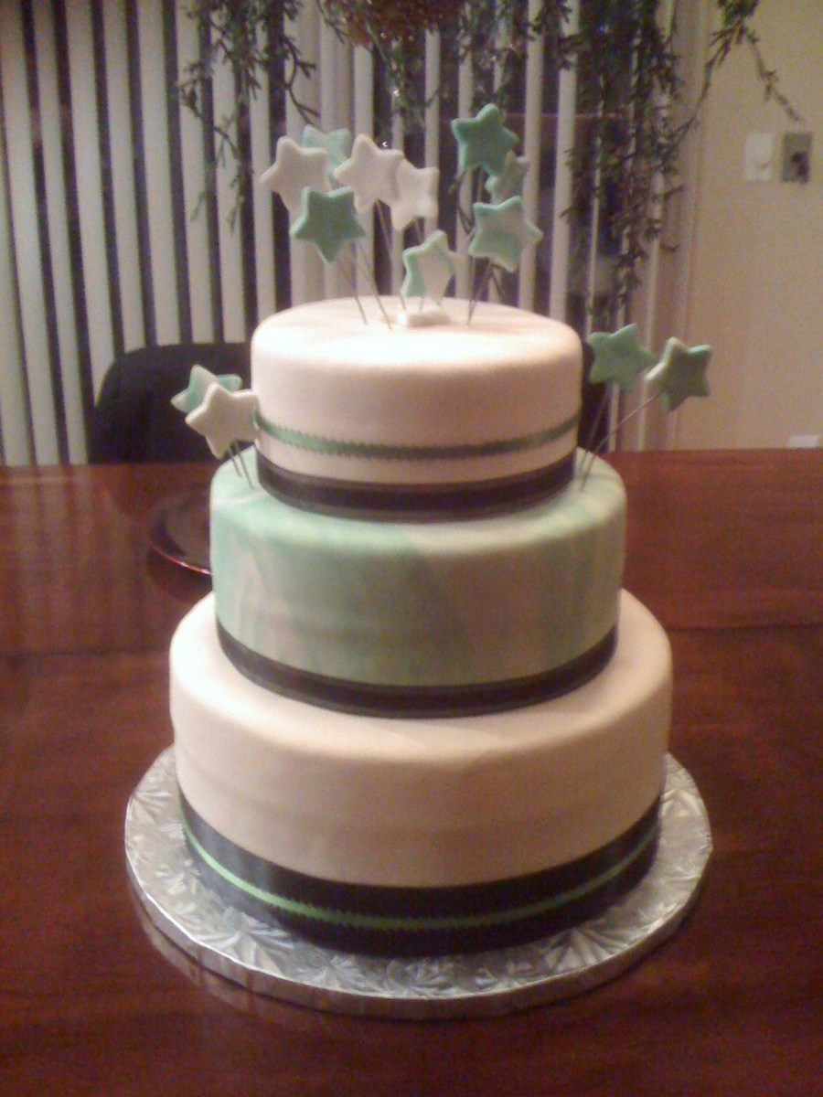 A New Years Wedding Cake Cakecentral Com