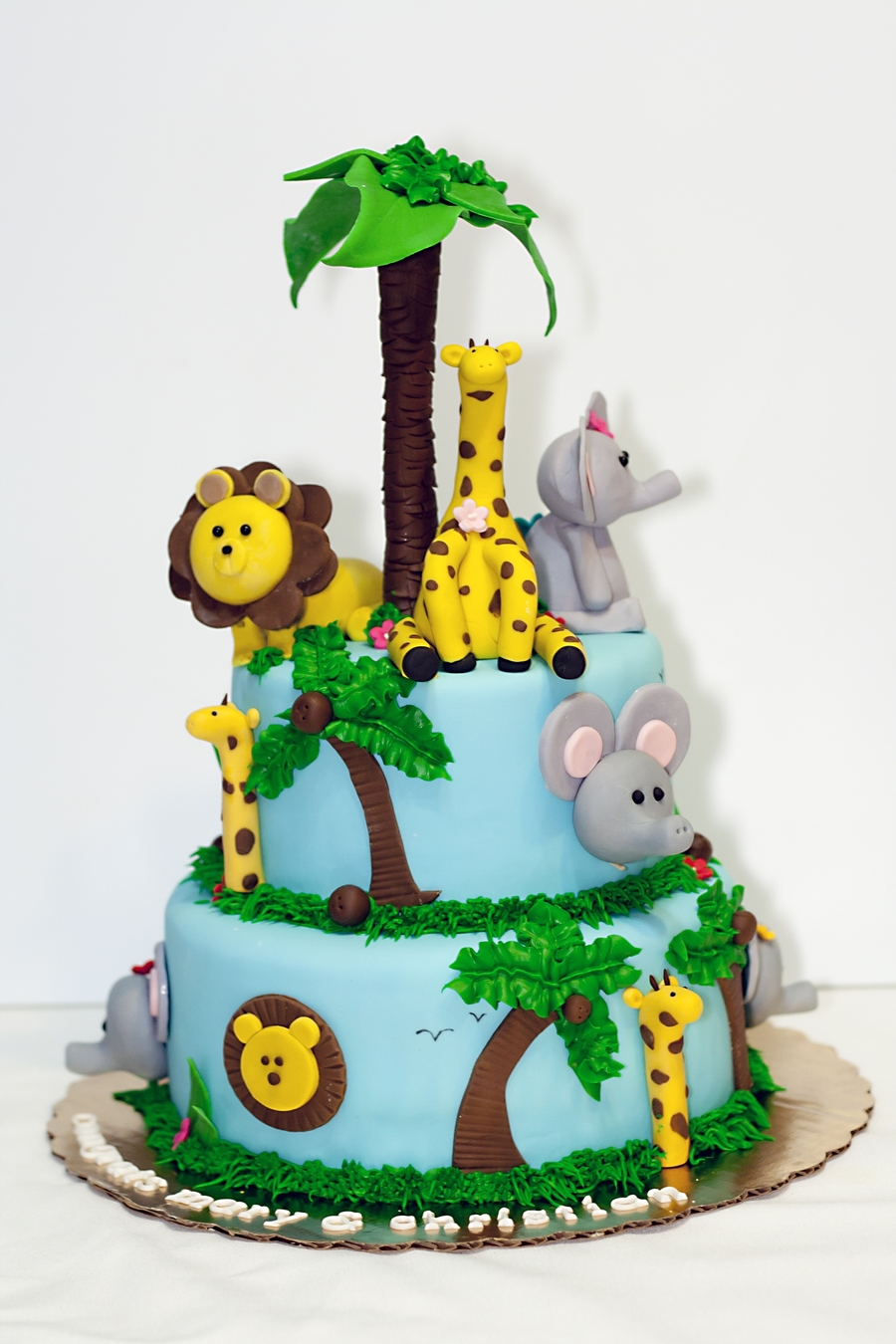 Safari Themed Baby Shower Cake Cakecentral Com