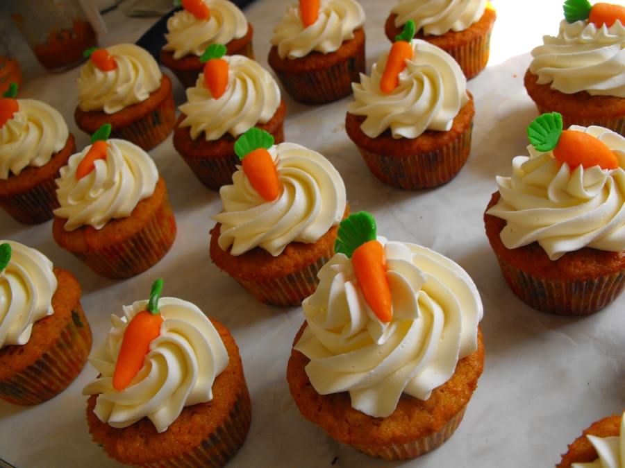Carrot Cupcakes on Cake Central