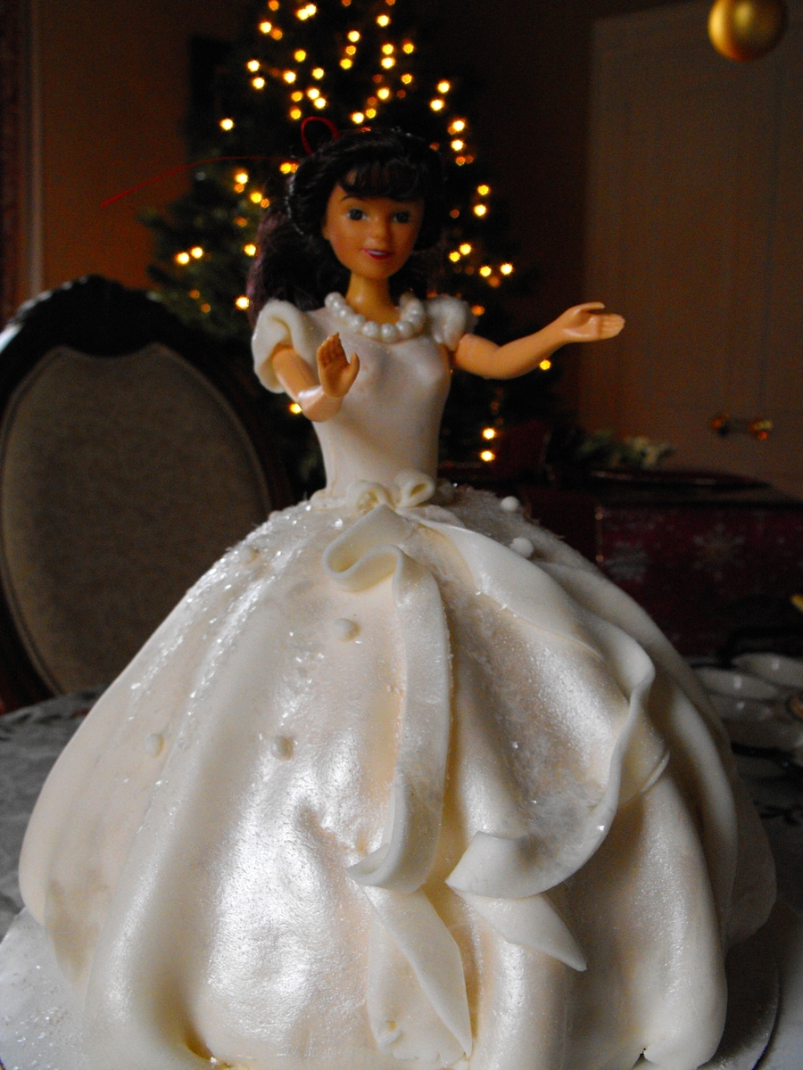Doll Dress Cake on Cake Central