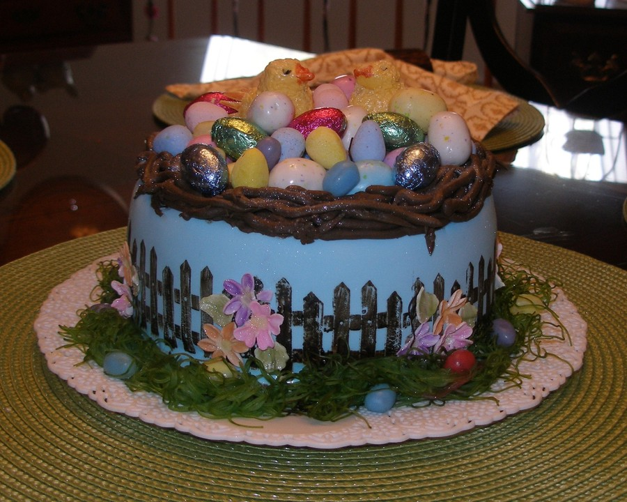 Easter Chics on Cake Central
