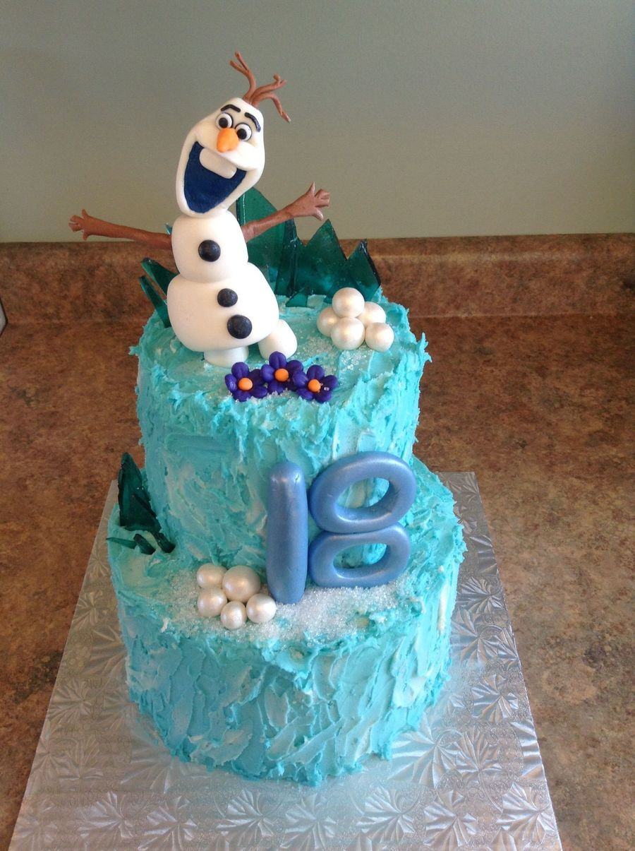 Frozen Olaf Cake Cakecentral