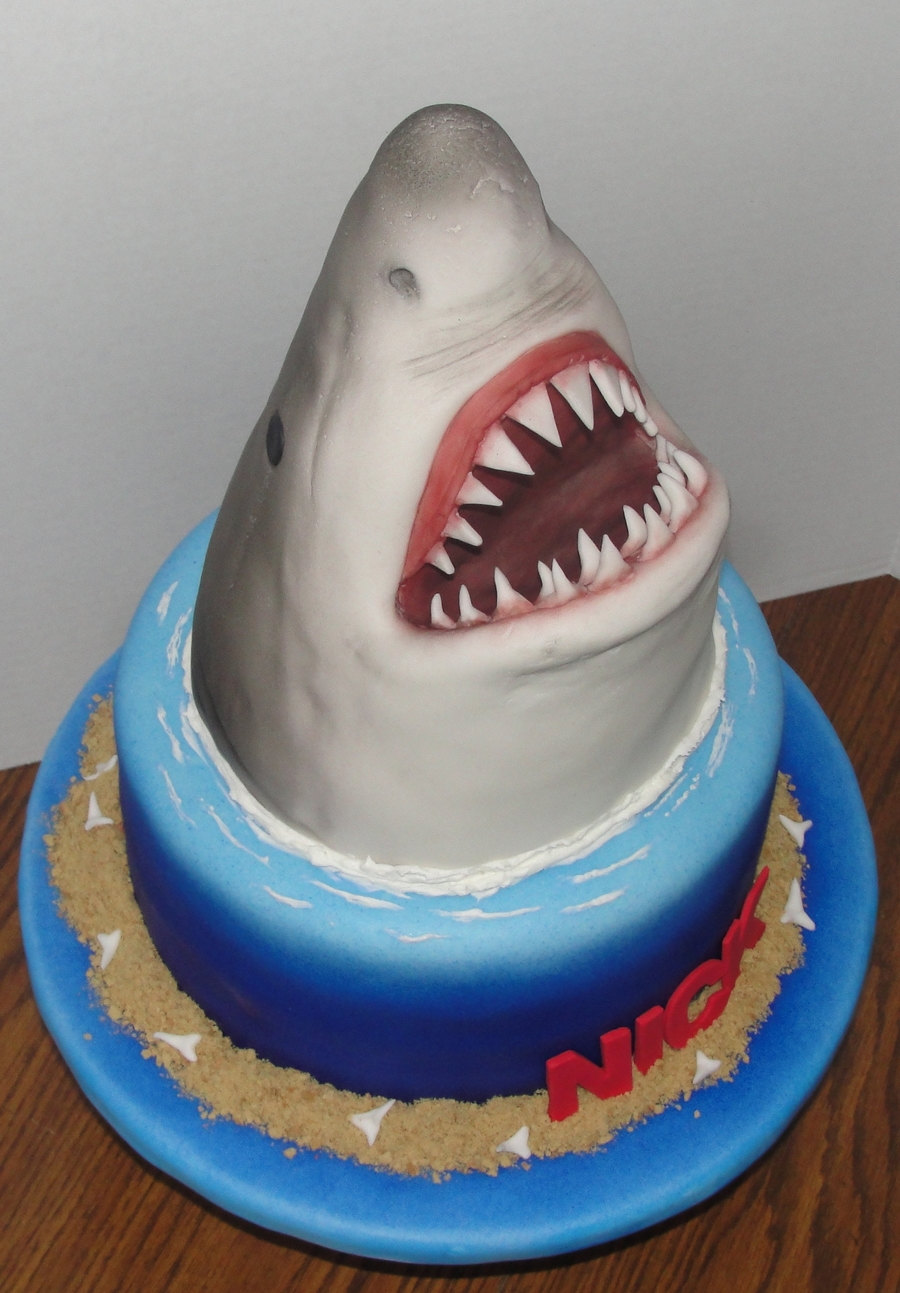 Shark Cakes Birthday