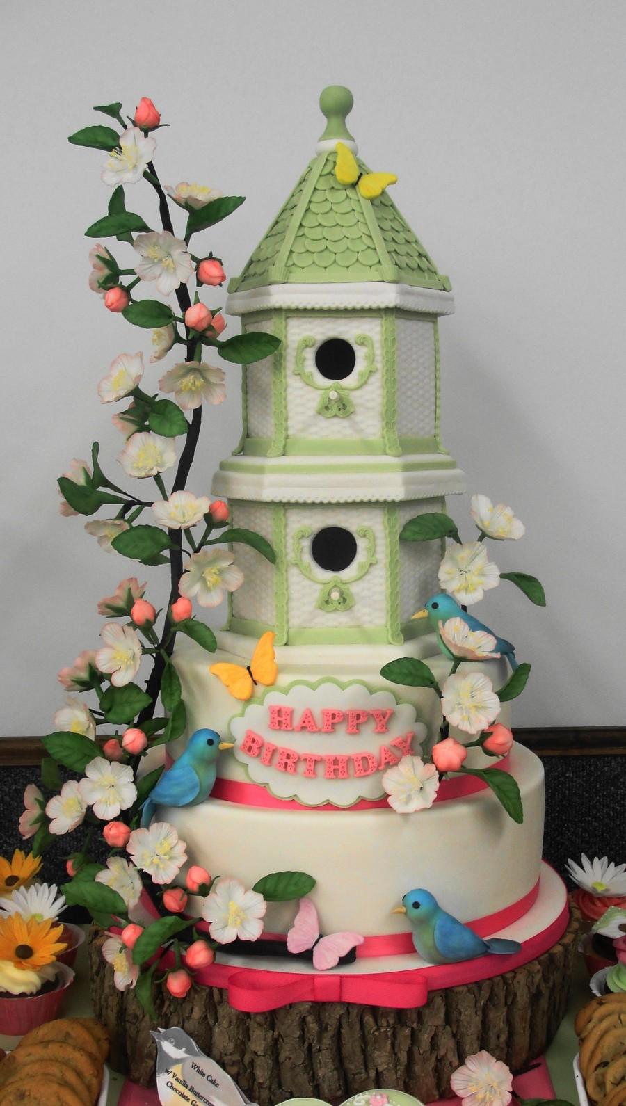 Spring Bird House Cake Cakecentral Com