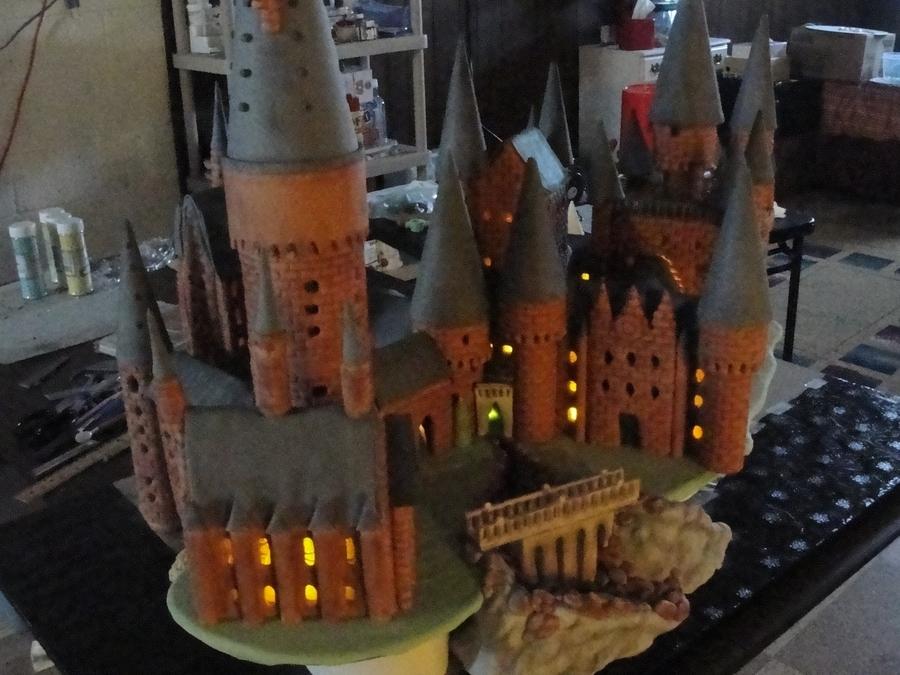 Harry Potter Hogwarts Birthday Cake
