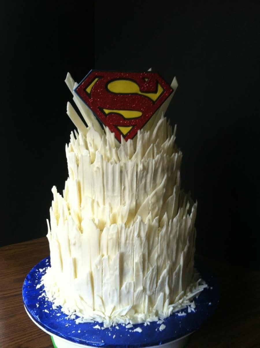Fortress Of Solitude Cake
