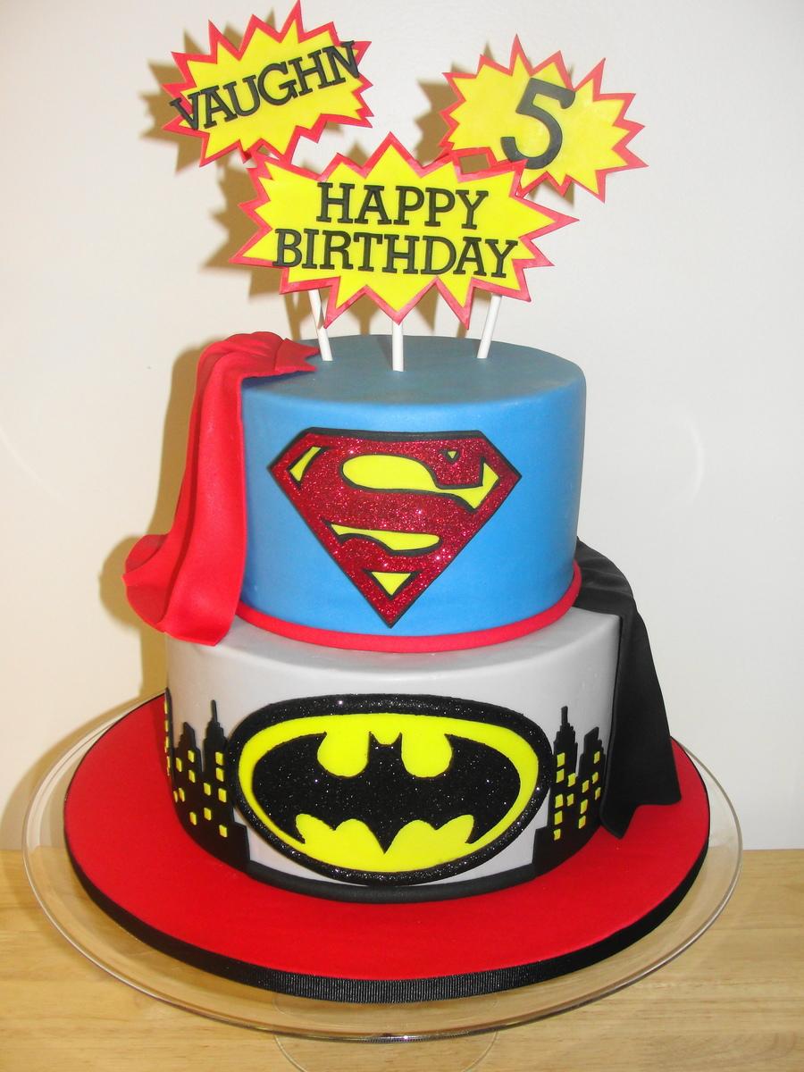 Superhero Birthday Cake Recipe
