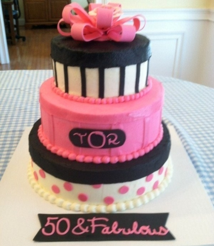 50 & Fabulous on Cake Central
