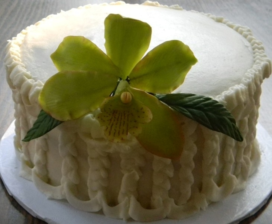 Ruffles And Flowers on Cake Central