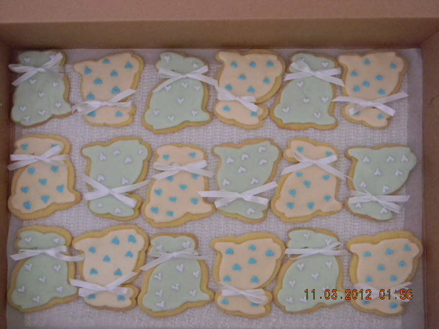 Sugar Cookies Covered With Rolled Butter Cream And Royal Icing Decorations on Cake Central