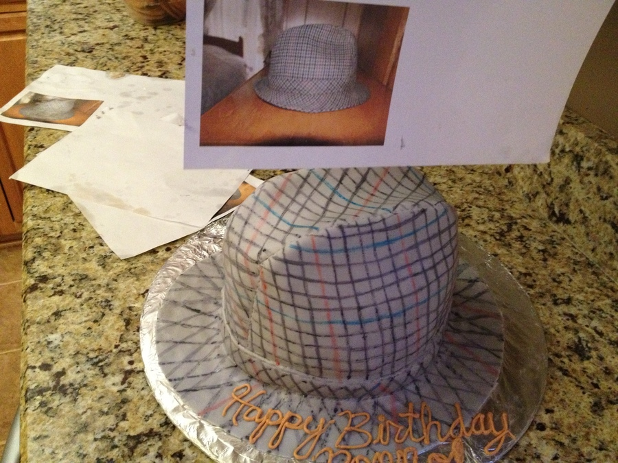 Hat Replica on Cake Central