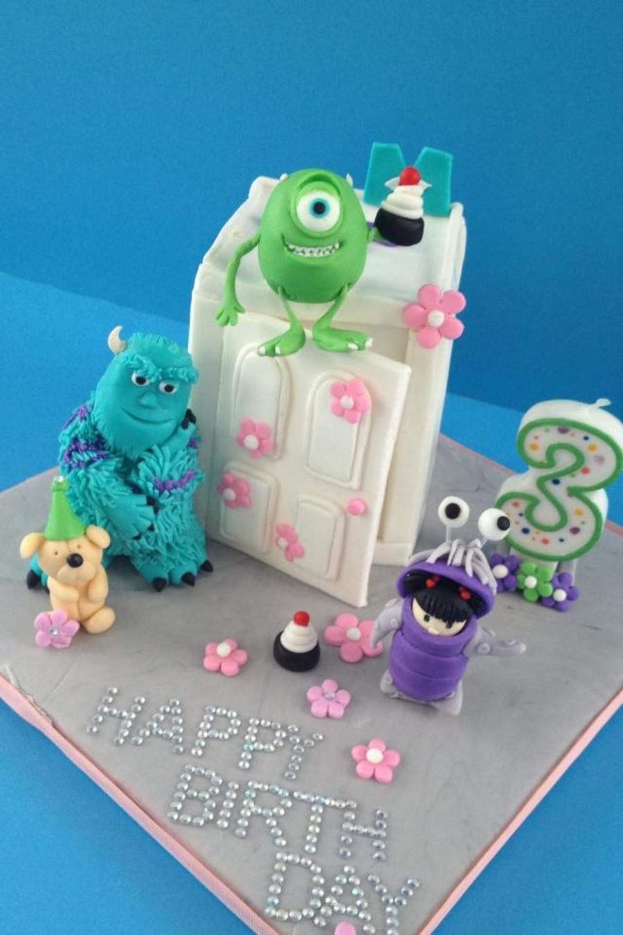 Monsters Inc. Theme Cake on Cake Central