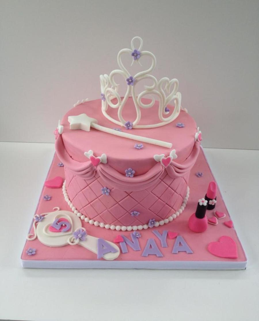 Cake Design Princess : Princess Theme Cake - CakeCentral.com
