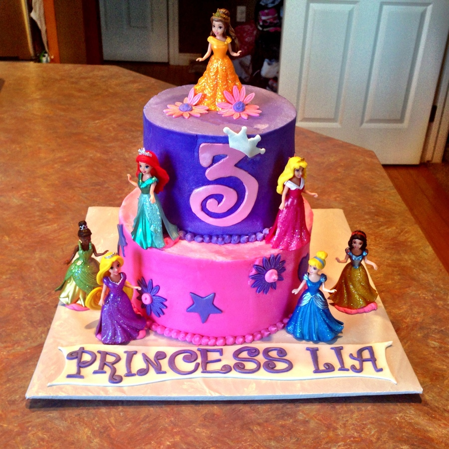 Disney Princess Birthday Cake Cakecentral Com