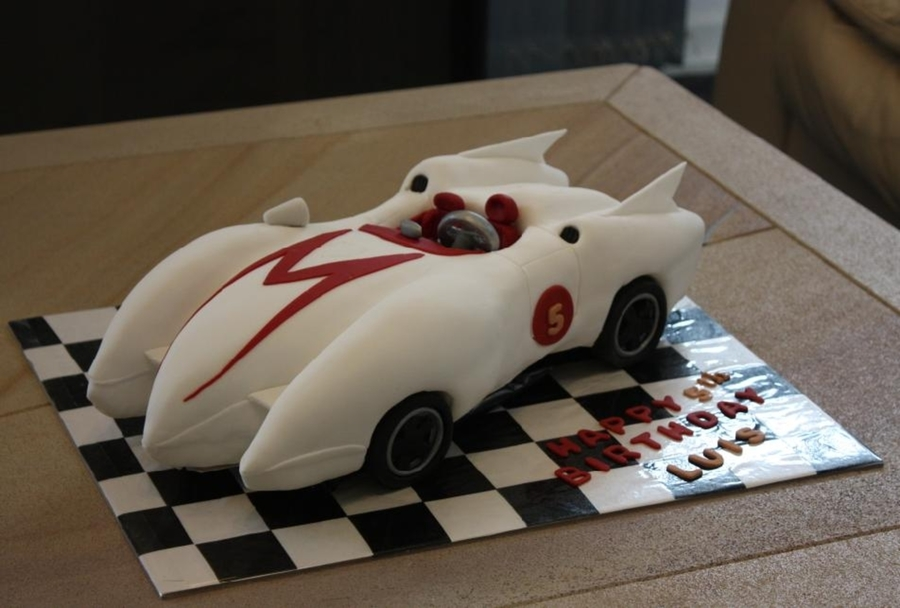 Speed Racer Cake Ideas