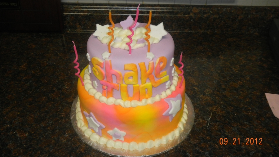 Shake It Up(Disney Show) B-Day Cake on Cake Central