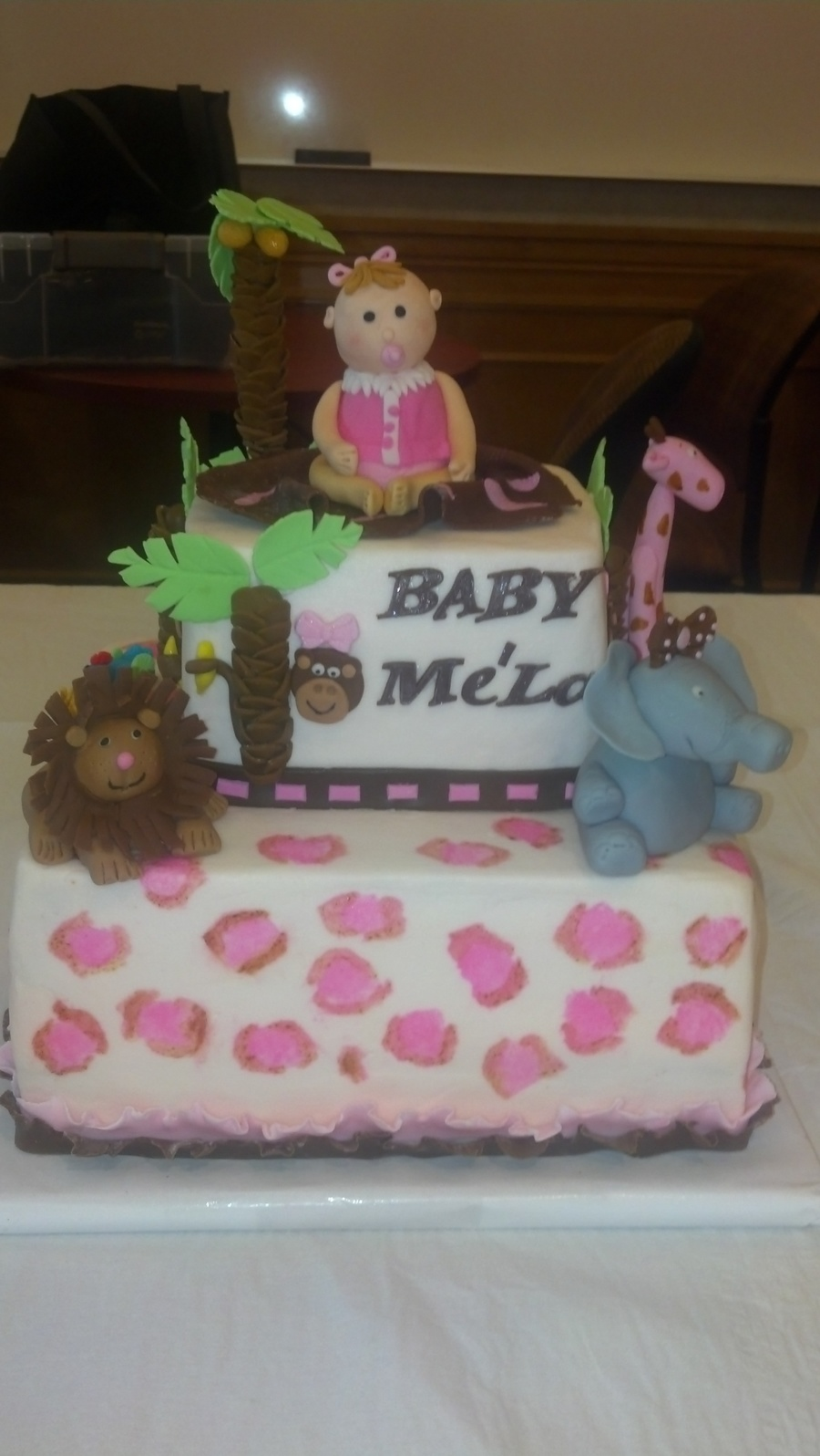 Finally Got An Order For A Baby Girl Shower Cake They Loved It on Cake Central