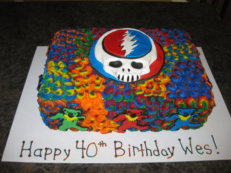 Grateful Dead On Cake Central