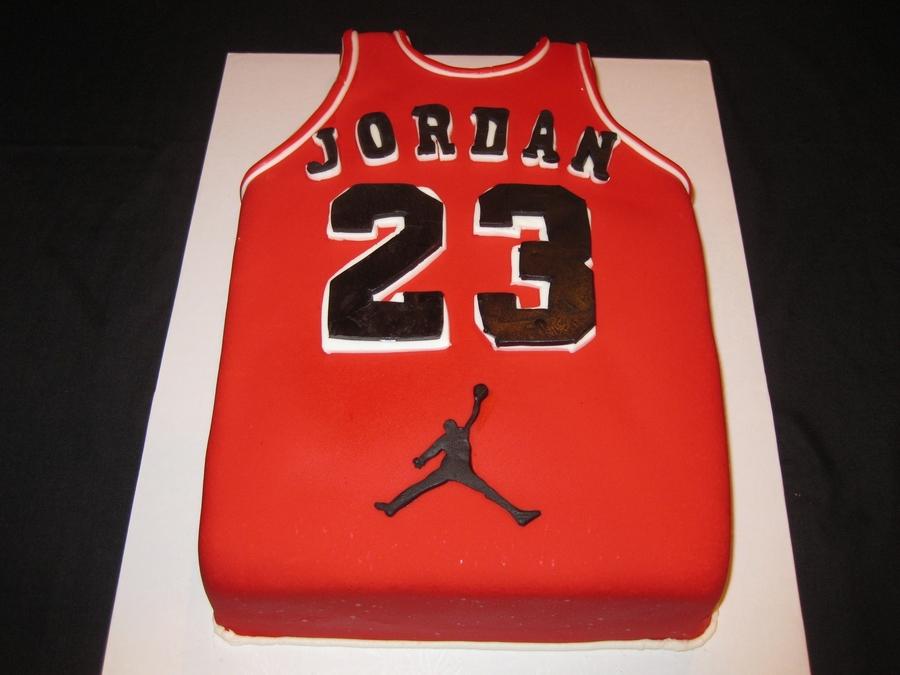 Michael Jordan Jersey CakeCentralcom