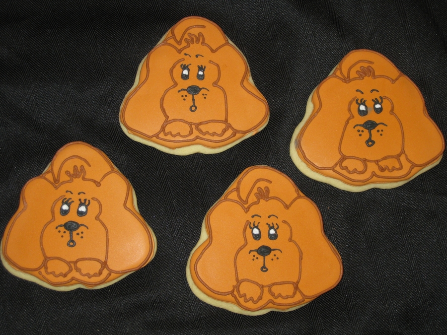 Dog Cutout Cookies on Cake Central