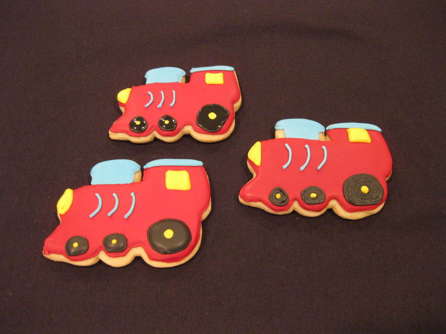 Train Cookies on Cake Central