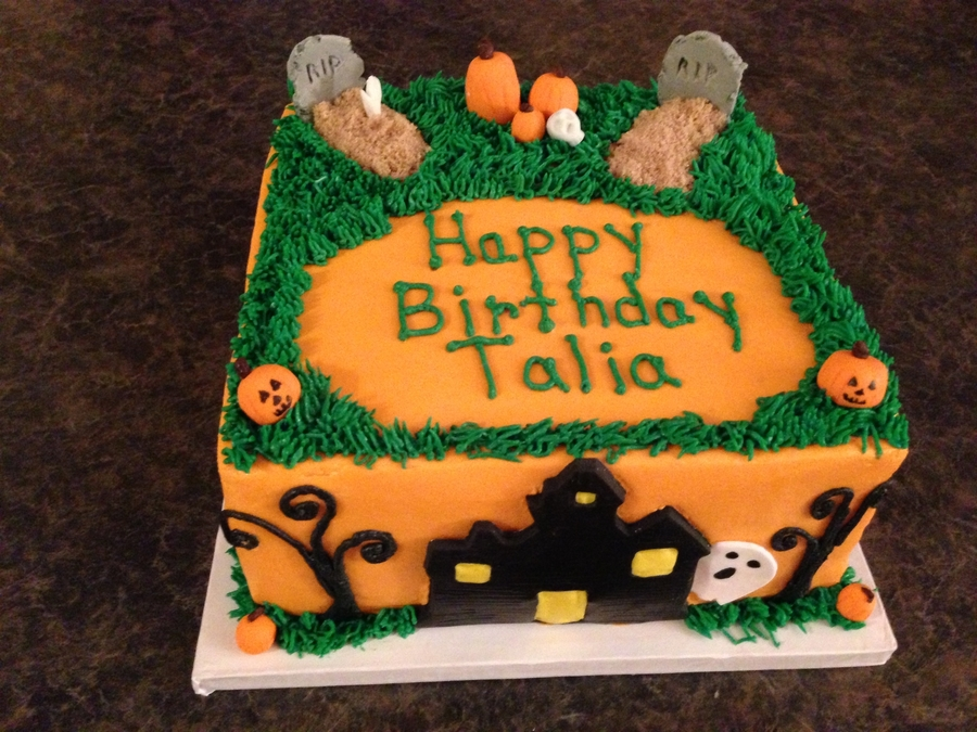 Halloween Cake on Cake Central