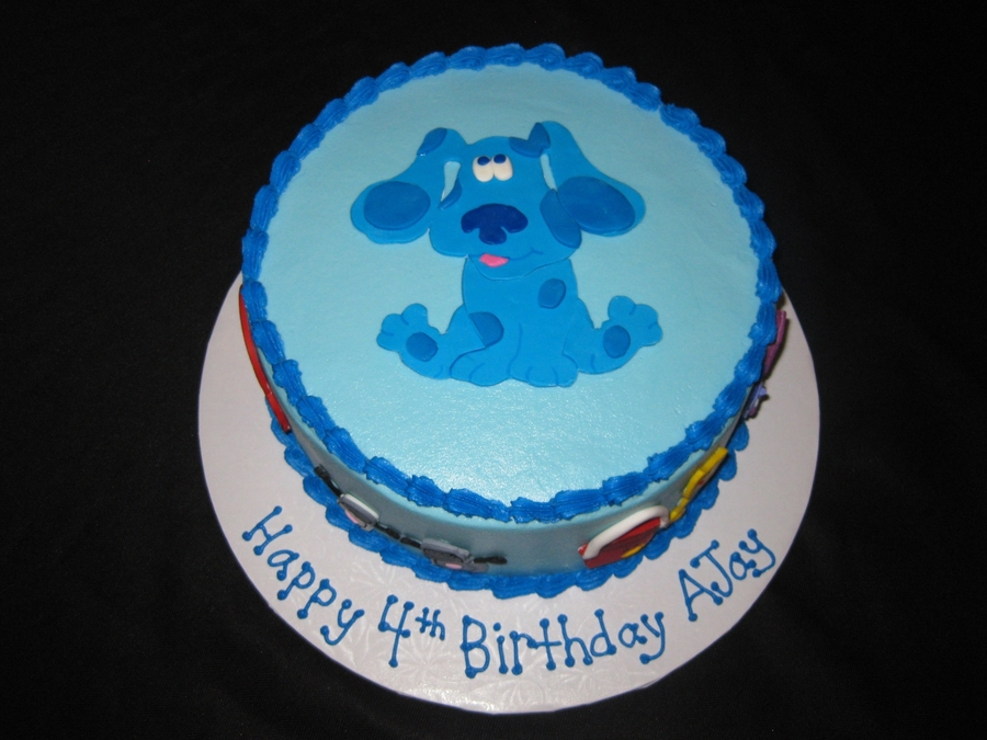 Magnificent Blues Clues Birthday Cake Cakecentral Com Personalised Birthday Cards Fashionlily Jamesorg