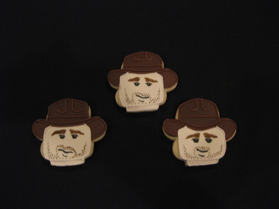 Indiana Jones Lego Cookies on Cake Central