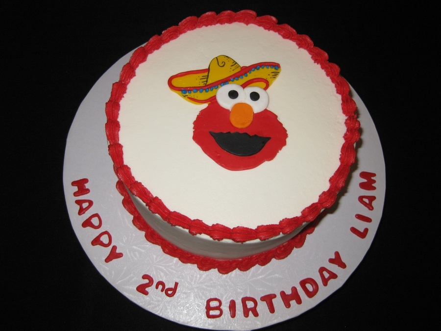 Elmo Cinco De Mayo  on Cake Central