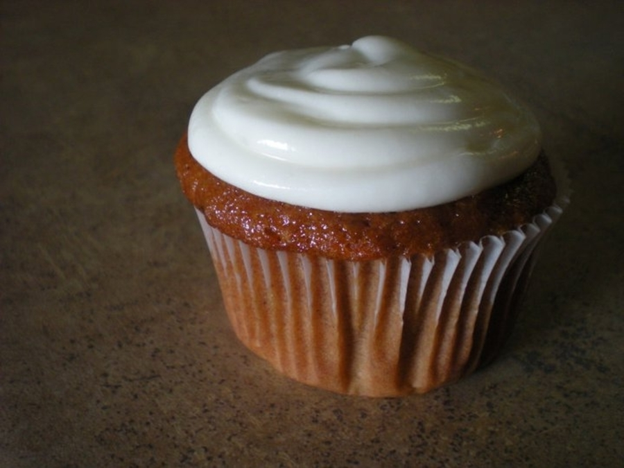Pumpkin Spice Cupcake With Cream Cheese Frosting! on Cake Central
