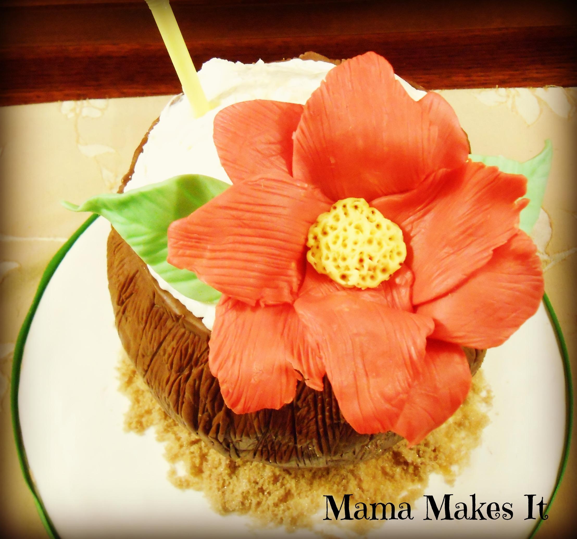 Recent Magazine With Recipe For Almond Joy Cake