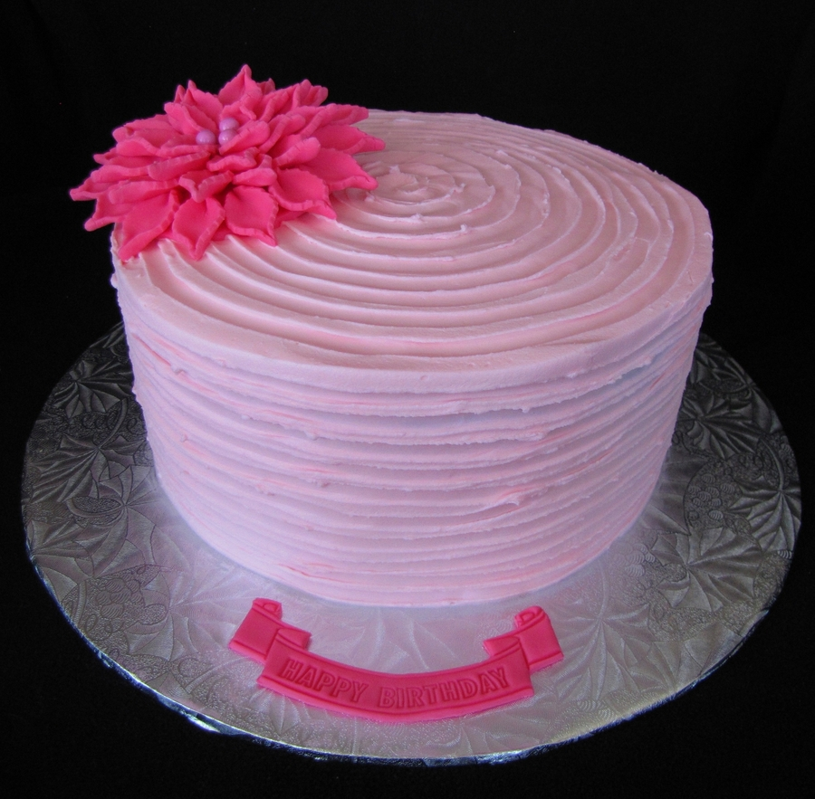 Ridged Buttercream Technique - CakeCentral.com