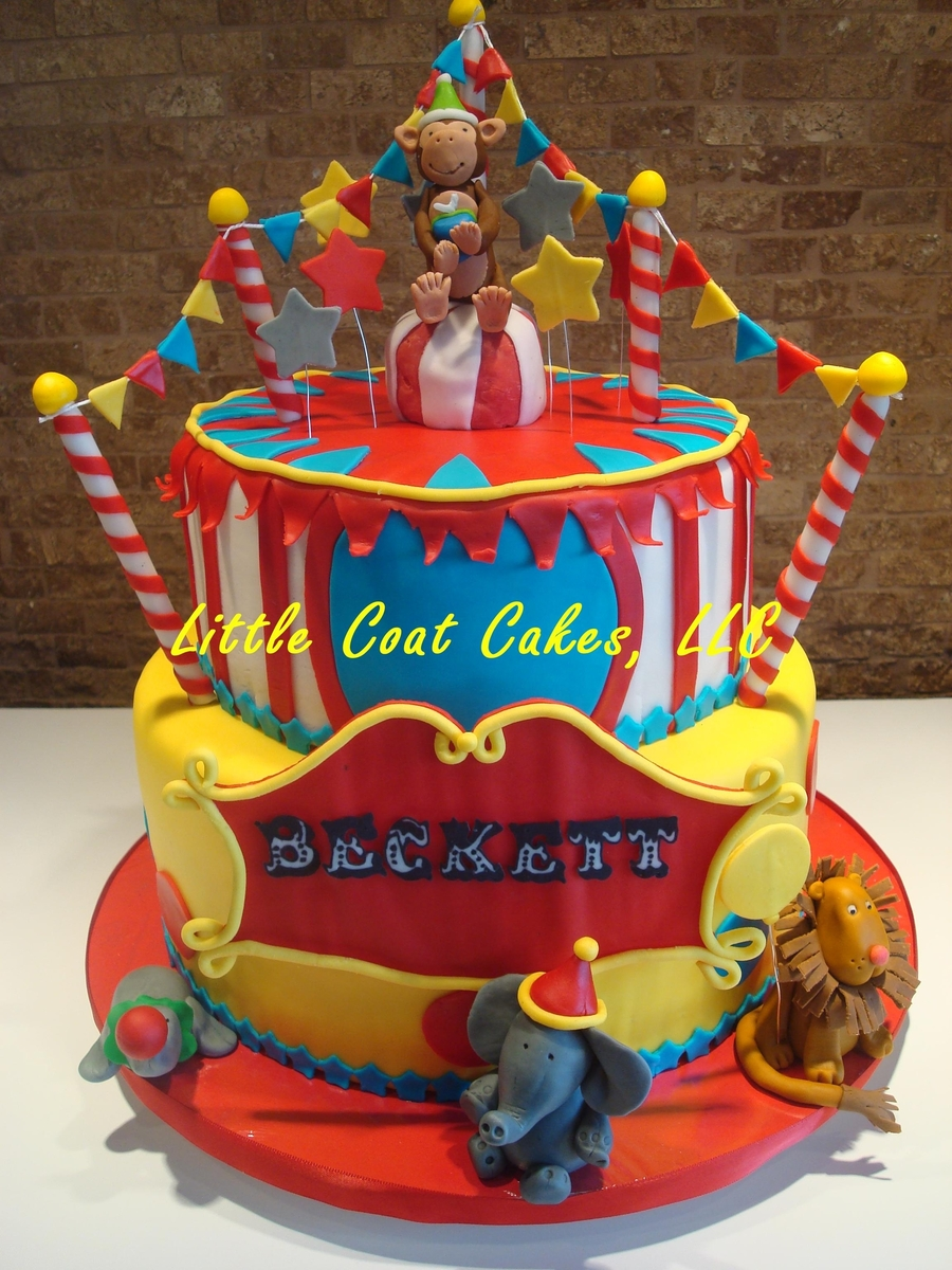 Circus Tent Cake on Cake Central