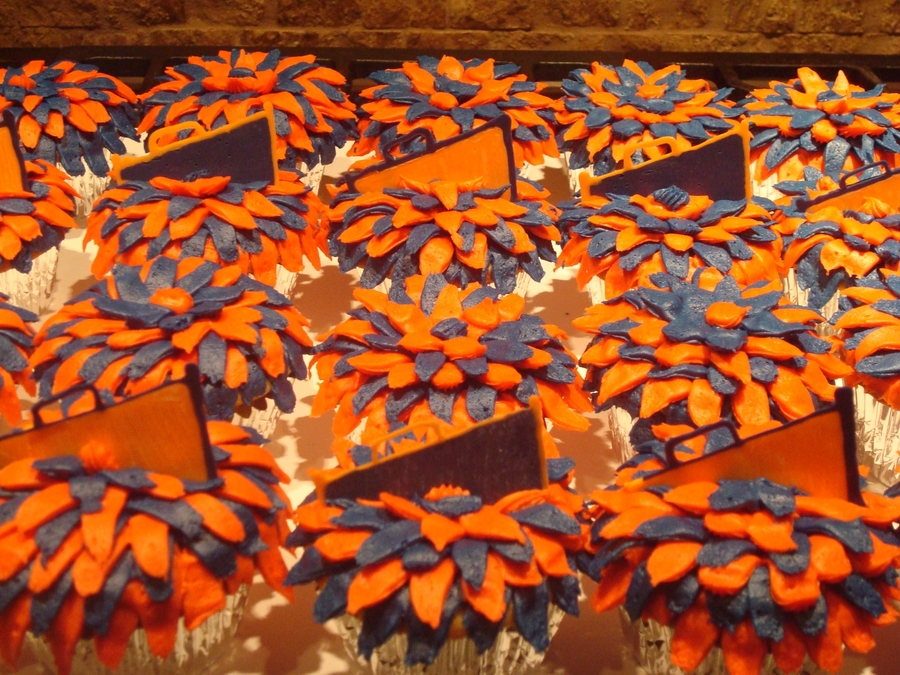 Cheerleader Pom-Pom Cupcakes on Cake Central