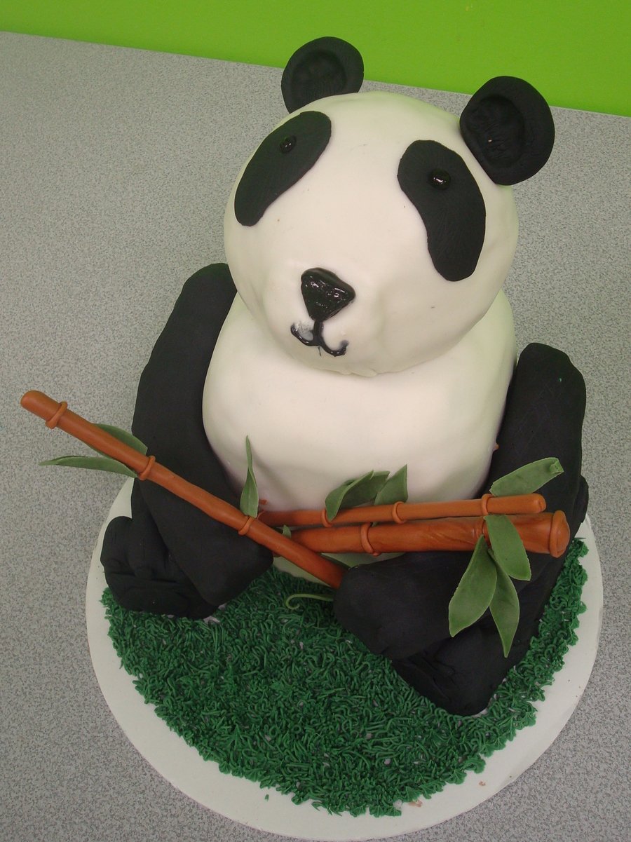 Carved Panda Cake on Cake Central